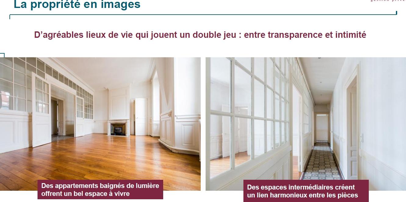 Vue sur propriété programme Lyon