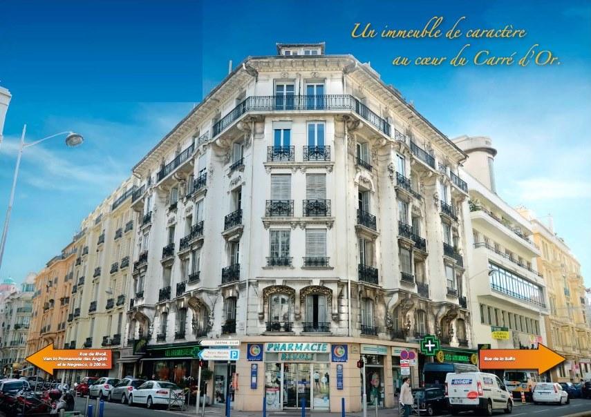 L'immeuble à Nice en déficit foncier