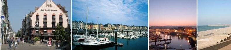 La ville de Dieppe