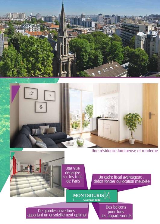 Immobilier en d ficit foncier paris 14eme - Deficit foncier location meublee ...