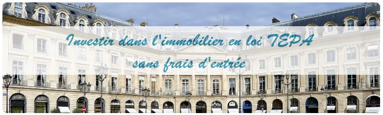 Fonds immobilier loi TEPA